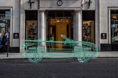 Land Rover Range Rover Evoque Convertible Wireframe 4