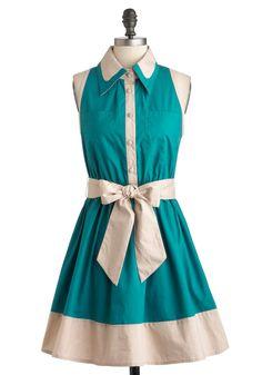 Ryu Diner Darling Dress   Mod Retro Vintage Dresses   ModCloth.com