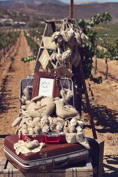 Vintage California Winery Wedding - Rustic Wedding Chic