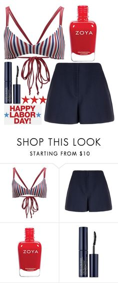 """""""labor day"""" by j-n-a ❤ liked on Polyvore featuring Boys + Arrows, Theory, Estée Lauder and laborday"""