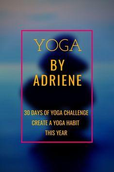 30 Days of Yoga - Yoga by Adriene, Thigh Challenge, Yoga Challenge, Plank Challenge, Weight Loss Motivation, Fitness Motivation, I Hate Work, Restorative Yoga Poses, 30 Day Yoga, Yoga With Adriene