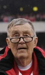 Larry Munson  Voice of the Bulldogs for 42 years.  1922-2011  R.I.P Mr. Munson