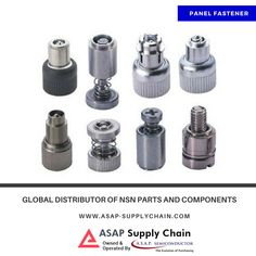 ASAP Supply Chain offers panel fasteners to fill most fastening requirements. Browse Panel Fasteners catalog.  #PanelFastener #Fasteners #NSNParts #IndustrialFasteners