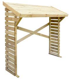 100€ Leñero de madera de pino de 1,80 x 1,82 x 0,71 m (ancho x alto x fondo) y 1,28 m2 de superficie total. Lleva un tratamiento inicial en autoclave que evita que la... 100€
