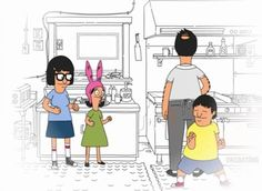 "Ultimately, family is what's most important. | 31 Things ""Bob's Burgers"" Can Teach You About Life, Family, And Butts"