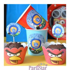 Angry birds ile neşeli bir parti yapmak ister misiniz :)  www.partistar.com #parti #partistar #party #partimalzemeleri #partisüsleri #kişiyeözelparti #doğumgünü #doğumgünüsüsleri #doğumgünüpartisi #doğumgünüorganizasyonu #doğumgünüorganizasyon #partisüsü #birthday #mutluyıllar #angrybirds #angry #birds #cupcake