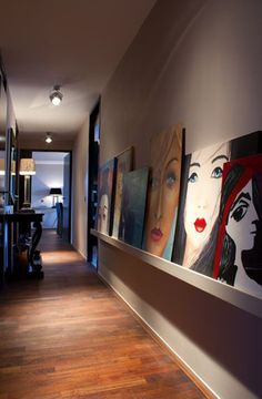 23 paredes para se inspirar andreavelame.com.br/ Selecionamos 23 imagens inspiradoras para você fazer em casa a sua galeria. Mãos à obra e transforme os