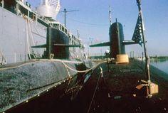 SSBN-643 George Bancroft and SSBN-634 Stonewall Jackson, 1982