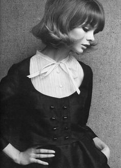 The classic beauty and style of Jean Shrimpton back in the 60s