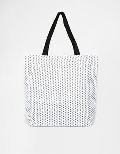 ASOS Star Print Shopper Bag
