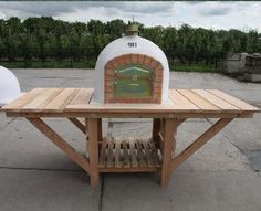 Outdoor Oven, Outdoor Kitchens, Ovens, Picnic Table, Outdoor Furniture, Outdoor Decor, Pizza, Base, Home Decor