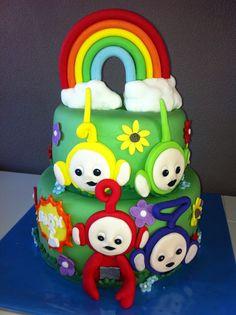 Teletubbies cake / Teletubbies taart