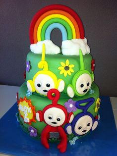 Teletubbies cake / Teletubbies taart