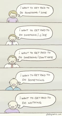 Here's a new sticky comic about workin'