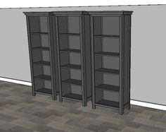 Ana White   Build a The Favorite Bookshelf   Free and Easy DIY Project and Furniture Plans