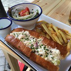 El Lobster Roll estilo Maine (con el bogavante frío) #instafood #bilbao #foodie #summerfood #especialidaddelacasa