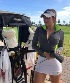 Surprising All About Ladies Golf Ideas. Unutterable All About Ladies Golf Ideas. Girls Golf, Ladies Golf, Women Golf, Foto Glamour, Girl Golf Outfit, Sexy Golf, Golfer, Golf Attire, Golf Humor