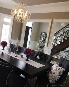 do you know how to decorate your dining room like an expert rh pinterest com Black and White Living Room Decorating Ideas On a Budget Black and White Room Decorating Ideas