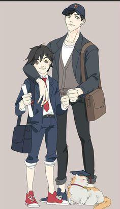 Tadashi and I - Hiro Hamada #RealHiroHamada