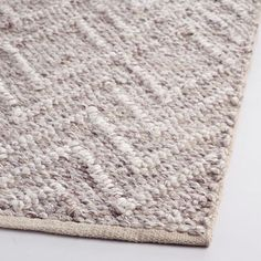 Ivory and Brown Chunky Sweater Seren Area Rug - v2