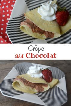 Crêpe au Chocolat -