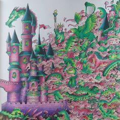 # imagimorphia #kolorowankidladorosłych #kolorowamafia #coloredpencil #coloring…