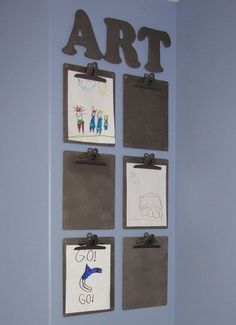 Love this article on how to organize kids artwork and school papers!!