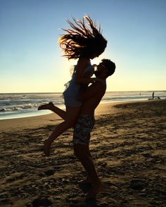 You sweep me off my feet. Beautiful mexican beach with my boyfriend