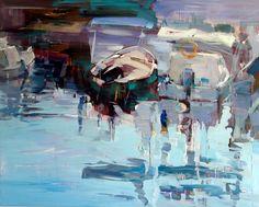 Evgeniy Severukhin, russian painter oil on canvas. 120x150 sm