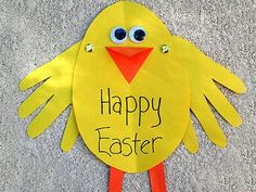 Easy Easter crafts for kids!  Yay, fine motor!!