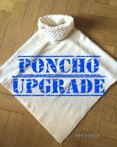 Wie nähe ich an einen Poncho einen Strickkragen bei www.rentatailor.de