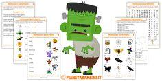 Schede didattiche di Halloween in inglese per scuola primaria