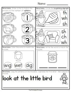 January Morning Work for Kindergarten {Common Core Aligned} -- contains 40 pages of activities (20 literacy / 20 math). Consistent, repetitive directions so students become independent workers and you can focus on morning duties!