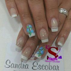 Jelsa, Flower Nails, Beauty, Personality, Nail Designs, Spa, Polish Nails, Black Nail Art, Nail Art Tutorials