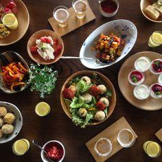 先週末に開催された、みんなのどうぐ#03のスピンオフ企画。  みんなのどうぐ#03で、完成披露会のお食事