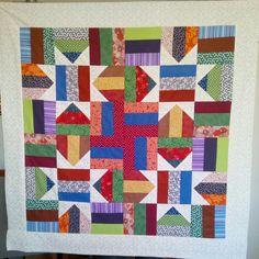 Minha linda toalha de patchwork