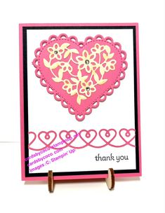 Let me show you how easy it is to create a beautiful thank you card using one stamp set and one set of dies! Appreciation Cards, Customer Appreciation, Handmade Stamps, Paper Crafting, Small Gifts, Thank You Cards, Stampin Up, Card Stock, Card Making