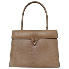 75b587d4f542 Delvaux lizard vintage bag Luxury Consignment