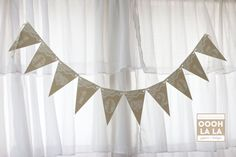 Hey, I found this really awesome Etsy listing at https://www.etsy.com/listing/213850141/made-to-order-burlap-and-lace-banner