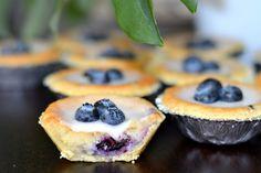 Blåbärsmazariner | Hannas bageri Bagan, Sugar And Spice, Bakery, Sweet Treats, Cheesecake, Food And Drink, Yummy Food, Sweets, Snacks