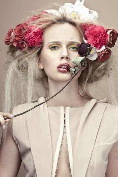 Khube Magazine | Elina and Polina | Pauline Darley | Behance  #fashion #photography
