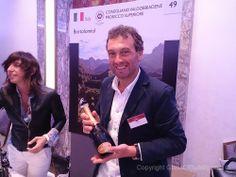 Conegliano Valdobbiadene #Prosecco Superiore at the Decanter 2014 Italian Wine Tasting Event, London.