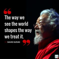 Happy 80th birthday to David Suzuki!