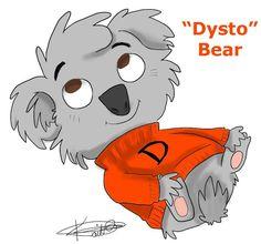Dysto bear