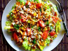 BBQ Chicken Quinoa Ranch Salad