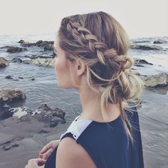 17 Messy Boho Braid kapsels te proberen - Gorgeous Touseled en Fishtail Vlechten