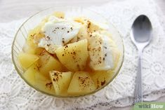 Imagen titulada Make Apple Compote Step 4 Cantaloupe, Food And Drink, Cooking Recipes, Apple, Chocolate, Fruit, Desserts, How To Make, Tan Solo