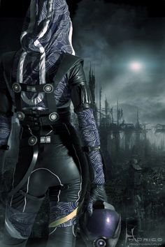 Mass Effect - I'm always so conflicted about whether i like Tali...
