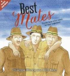 Picture story book for older children. -The three young soldiers in the story are best friends from school, and they leave New Zealand together to go and fight at Gallipoli. Landing first in Egypt, they travel by ship to Anzac Cove and dig into trenches to fight the Turkish troops holding the peninsula. Conditions are tough and Joe gets sick, but his mates help him off on the hospital ship.