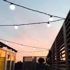 White Outdoor Festoon Party Lights